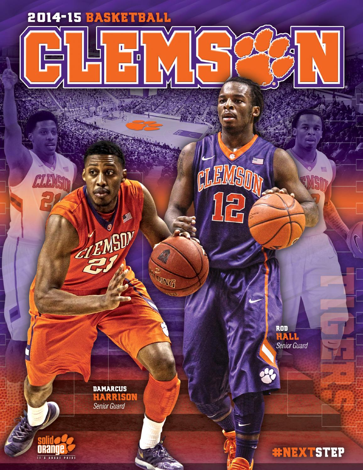 fc27ff544b85 2014-15 Clemson Men s Basketball Media Guide by Clemson Tigers - issuu