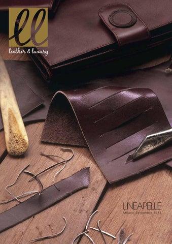 Leather   Luxury 3 by MGA Comunicazione - issuu 7e14664fe2c