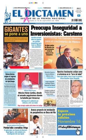 El Dictamen 27 de Octubre de 2014 by El Dictamen - issuu 762d1ac4bfc08