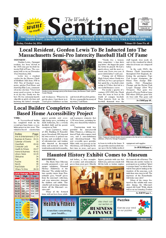 WS Mar. 28, 2014 by Weekly Sentinel - Issuu