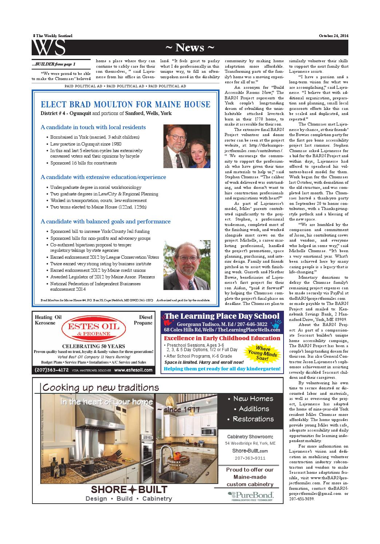 WS Oct. 3, 2014 by Weekly Sentinel - Issuu