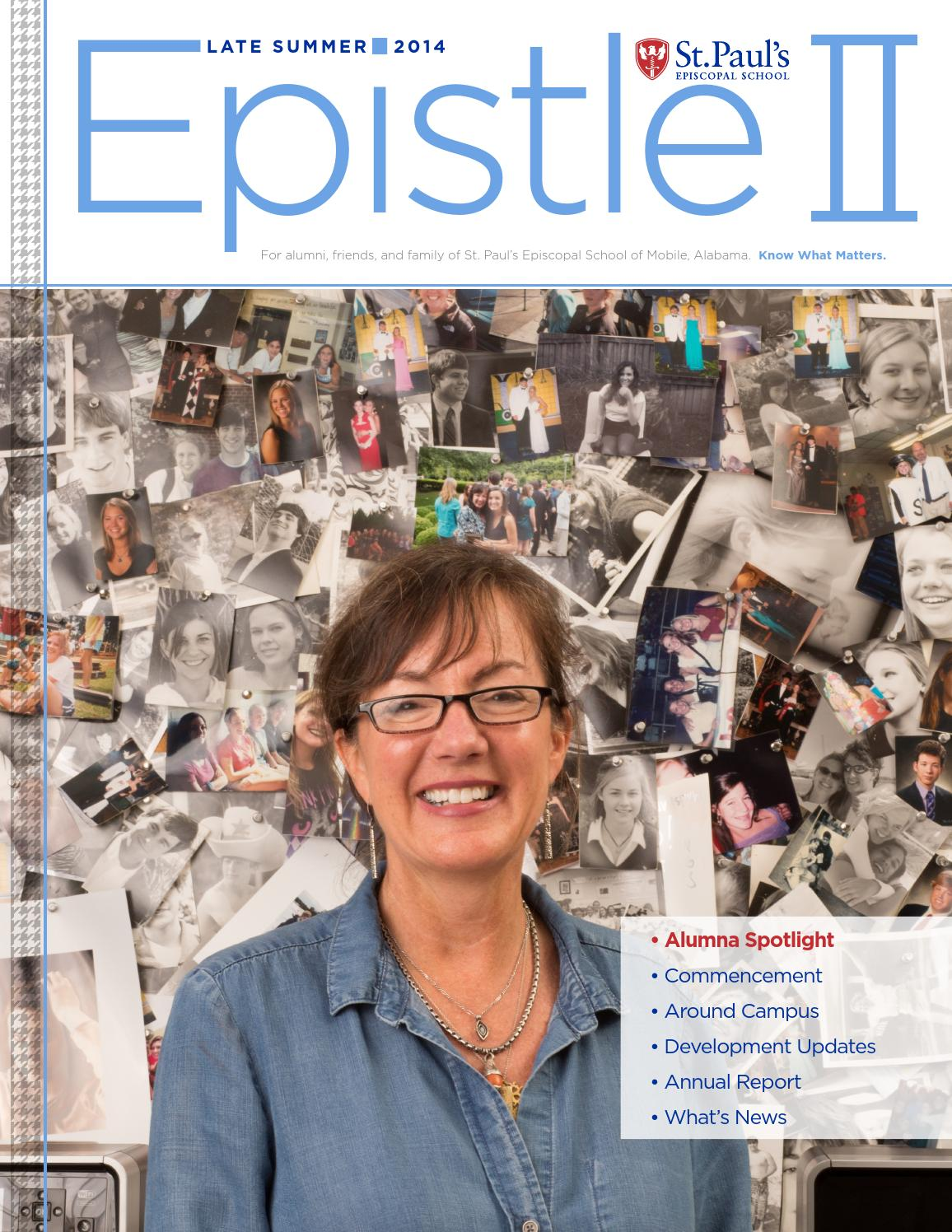 Epistle II - Summer 2014 by St  Paul's Episcopal School - issuu
