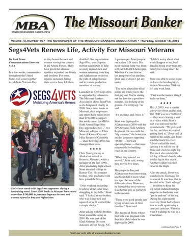 The Missouri Banker by Missouri Bankers Association - issuu