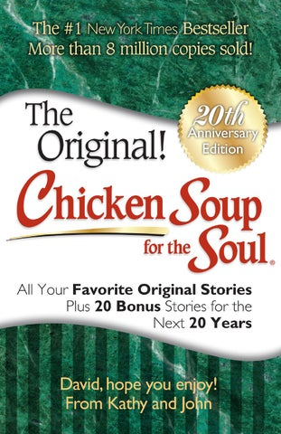 Put Me In The Story Chicken Soup For The Soul 20th Anniversary