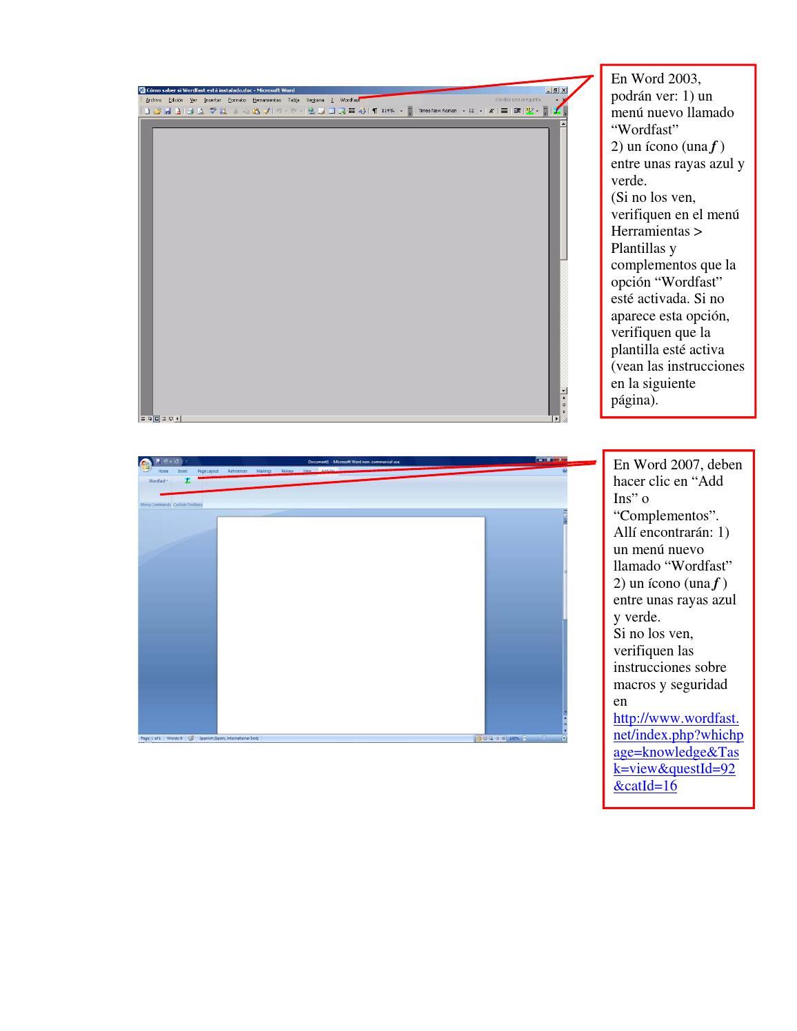 Cómo saber si wordfast está instalado by Belen Fagundez - issuu