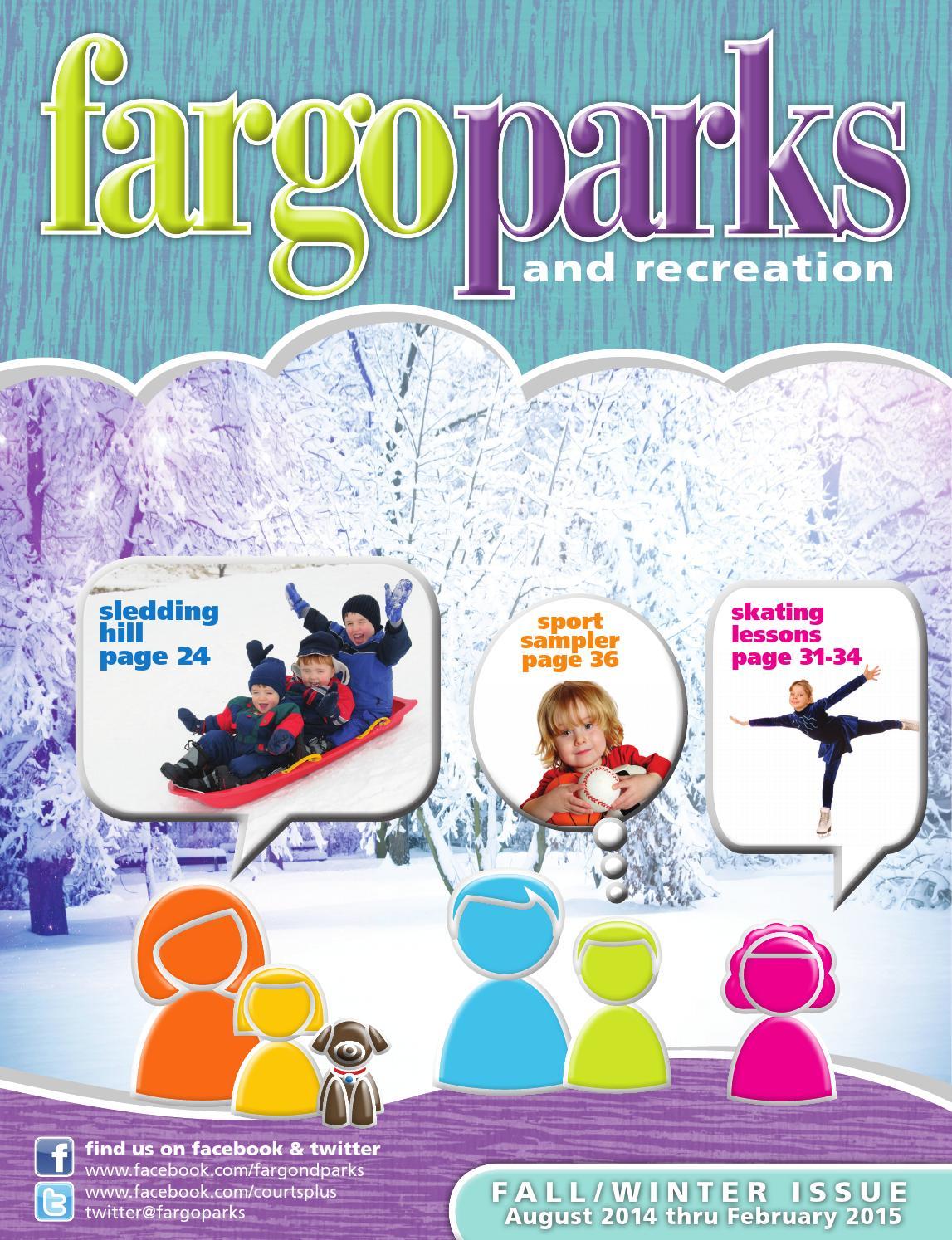 Fargo Parks Fall Winter Brochure By Fargoparks Issuu