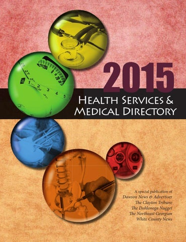 2015 Health Services Medical Directory