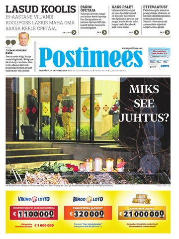 ea13d132aeb Postimees 21 10 2014 by Postimees - issuu