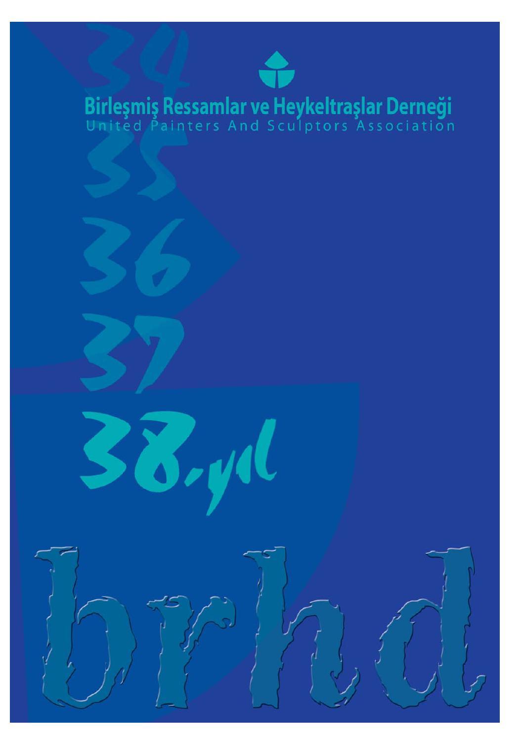 Brhd 38 Yil Katalogu By Brhd Sanat Issuu