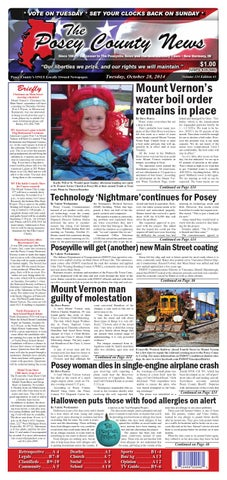 october 28 2014 the posey county news by the posey county news rh issuu com