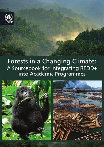 Forests in a changing climate: a sourcebook for integrating
