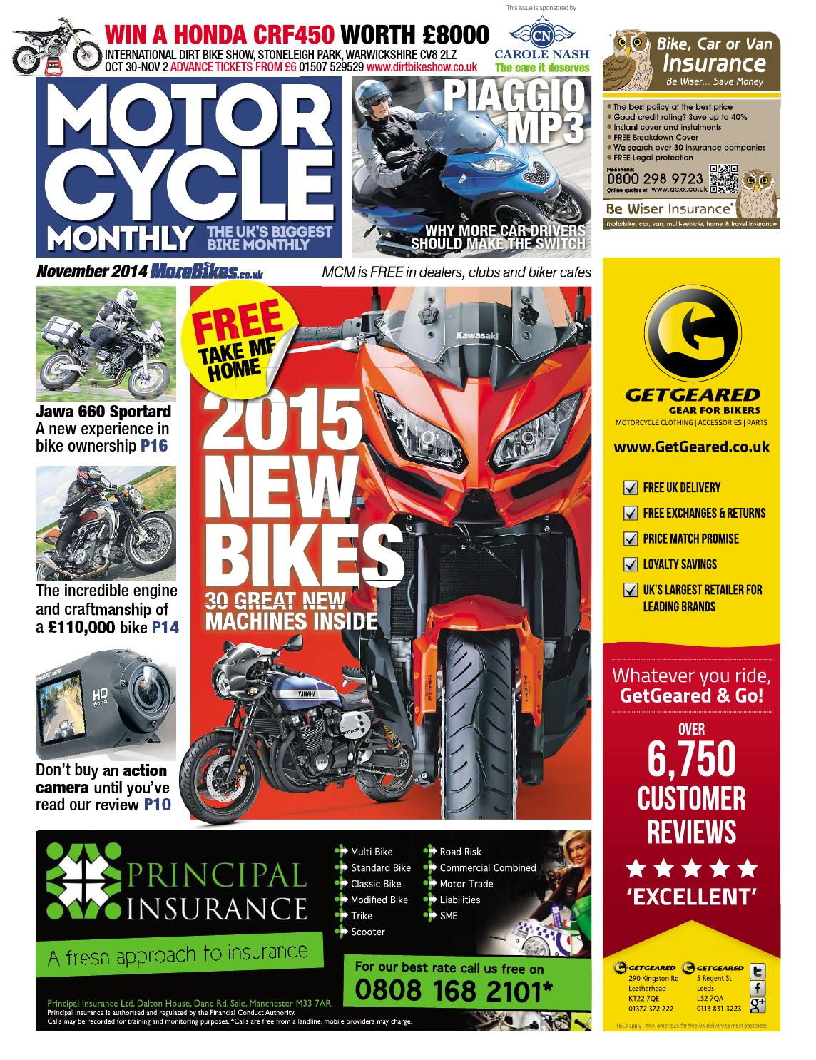 Motor Cycle Monthly - November 2014 by Mortons Media Group Ltd - issuu 34abd6640