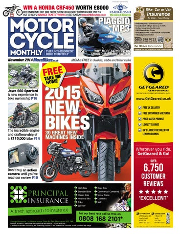f43f0afc2546 Motor Cycle Monthly - November 2014 by Mortons Media Group Ltd - issuu