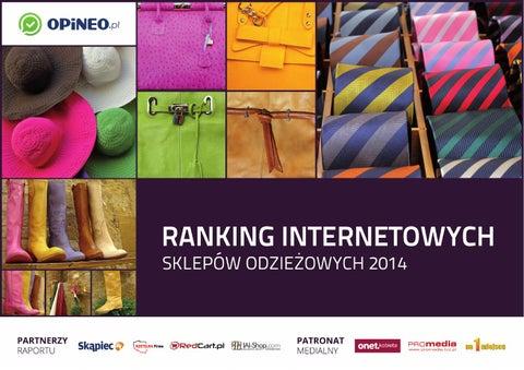 7b6dc5fcd Ranking Internetowych Sklepów Odzieżowych 2014 by Opineo.pl - issuu