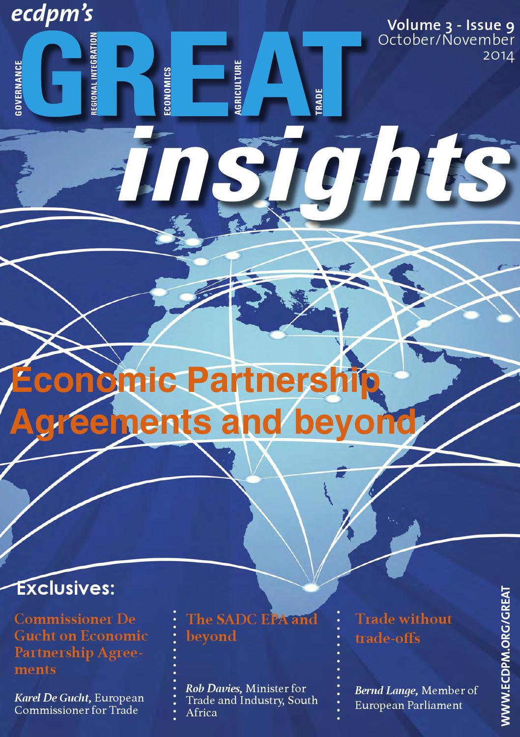 Great Insights Economic Partnerships Agreements And Beyond By Ecdpm