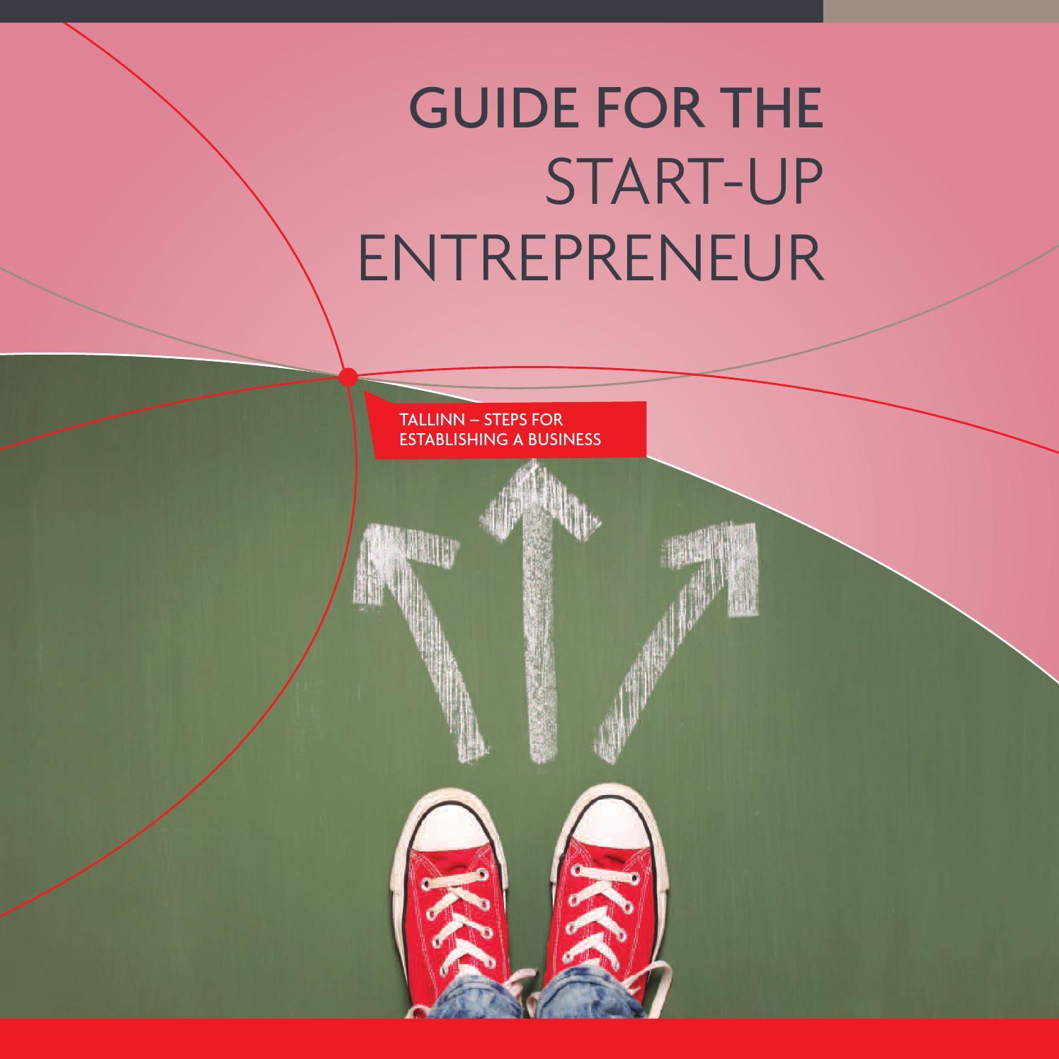 126065ee915 Guide for the start-up entrepreneur by Tallinna linnavalitsus - issuu