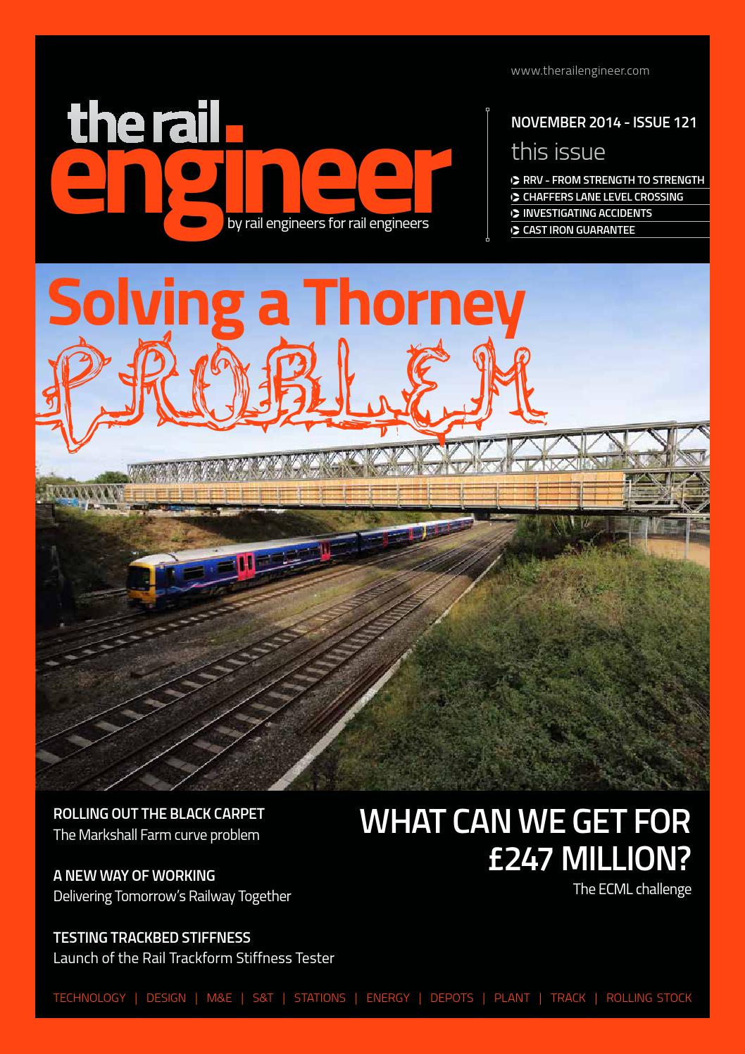 The Rail Engineer Issue 121 November 2014 By Rail