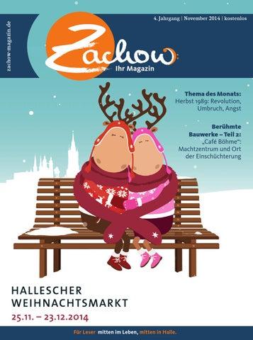 November 2014 Zachow Ihr Magazin By Mediengruppe Mitteldeutsche