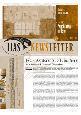 IIAS Newsletter 30 by International Institute for Asian Studies - issuu 6371a31fdae18