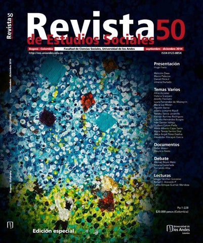 Revista Estudios Sociales No 50 By Universidad De Los Andes Issuu