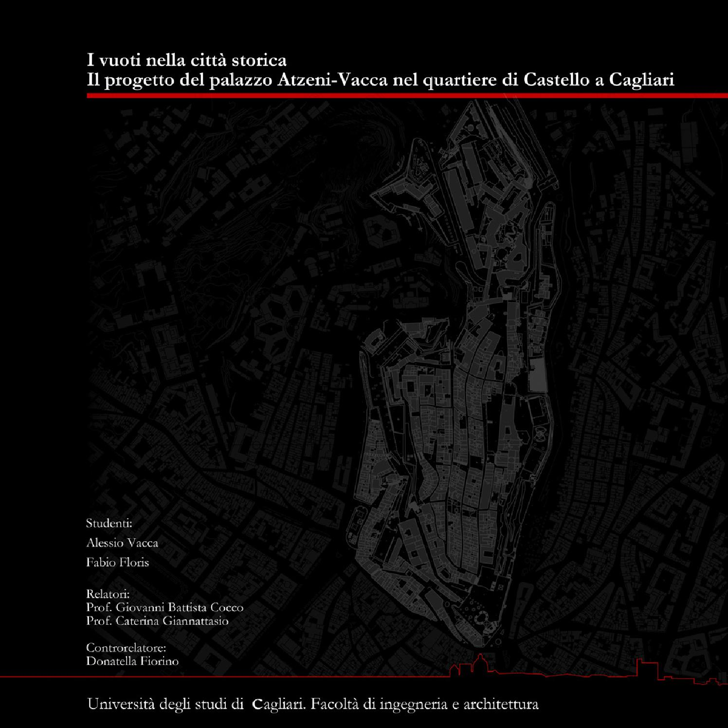 Architecture thesis I vuoti nella citt  storica The empty spaces in the old town by Fabio Floris issuu