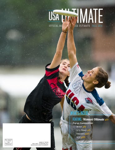 71b84cd7d3ae Fall 2014 USA Ultimate Magazine by USA Ultimate - issuu