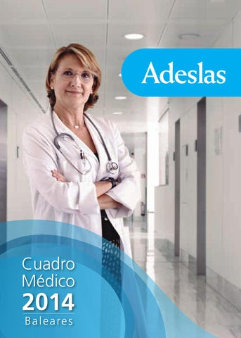 Cuadro Medico Adeslas Baleares By Esther Lopez Issuu