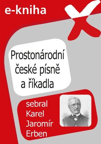Prostonárodní české písně a říkadla by Flexibooks - issuu 6bcaef1269