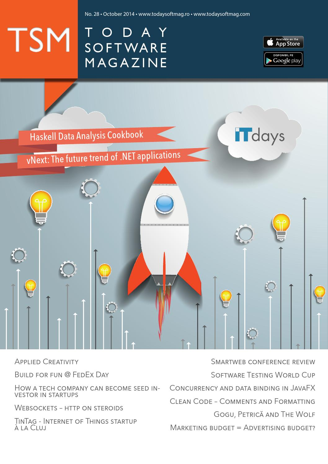 Issue 28 - October - Today Software Magazine by Today Software ...