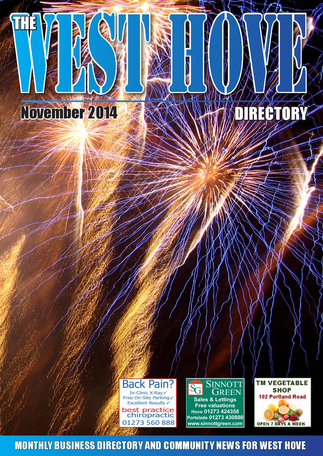 West Hove Directory November 2014 by Sussex Magazines - issuu