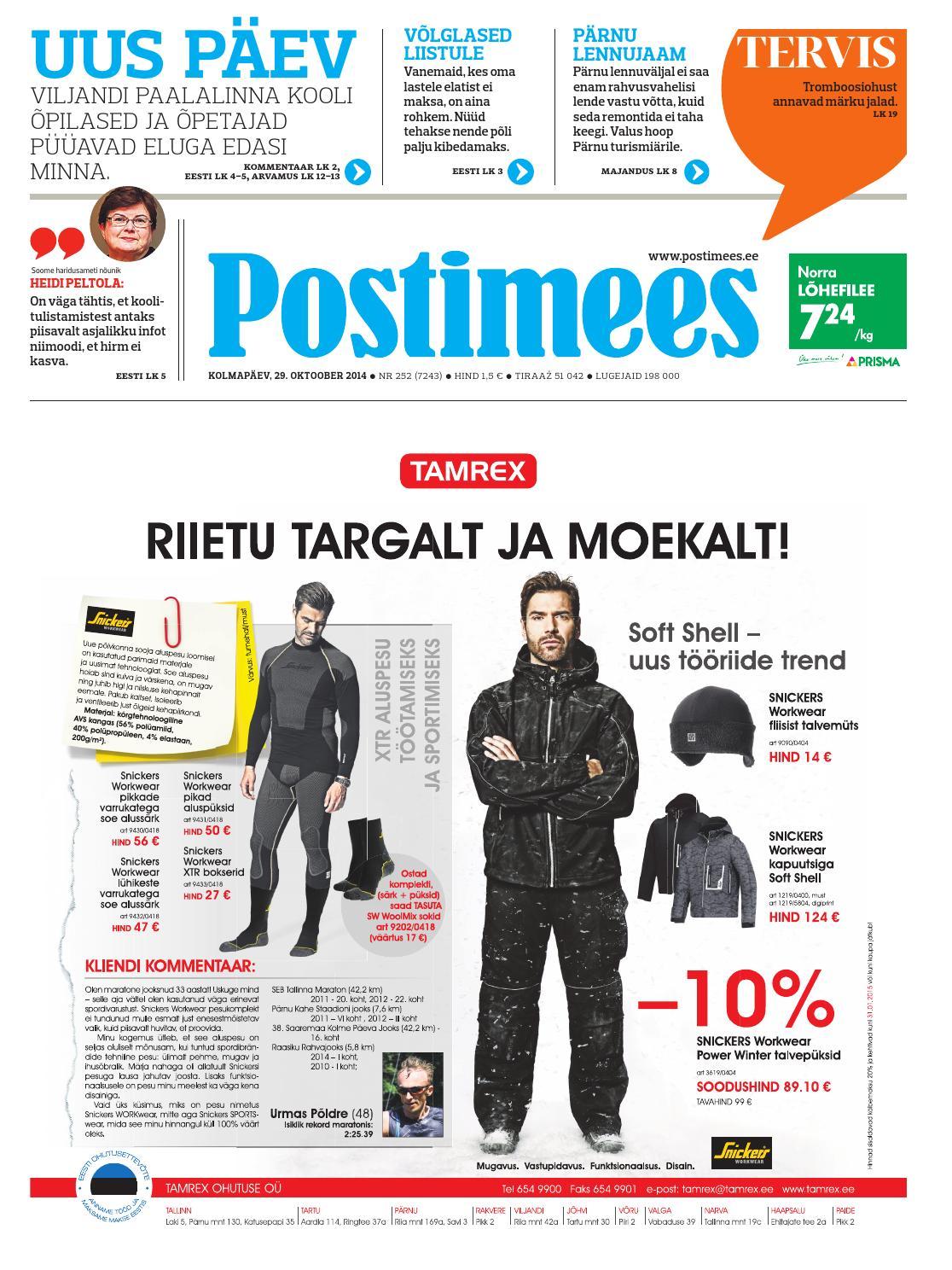 07745c9624f Postimees 29 10 2014 by Postimees - issuu