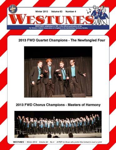 Westunes, Vol 63 No 4, Winter 2013 by Far Western District