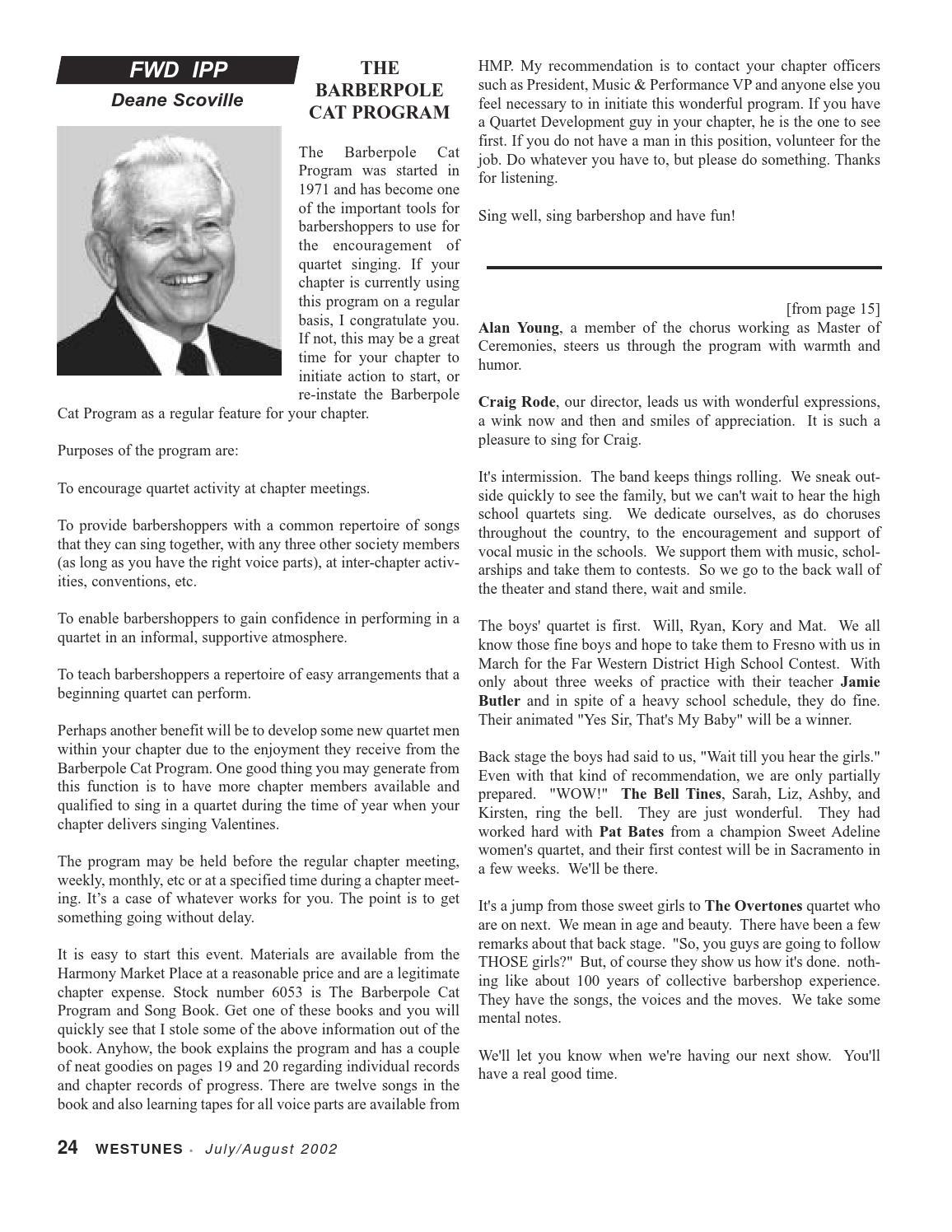 Westunes, Vol 52 No 4, Jul-Aug 2002 by Far Western District