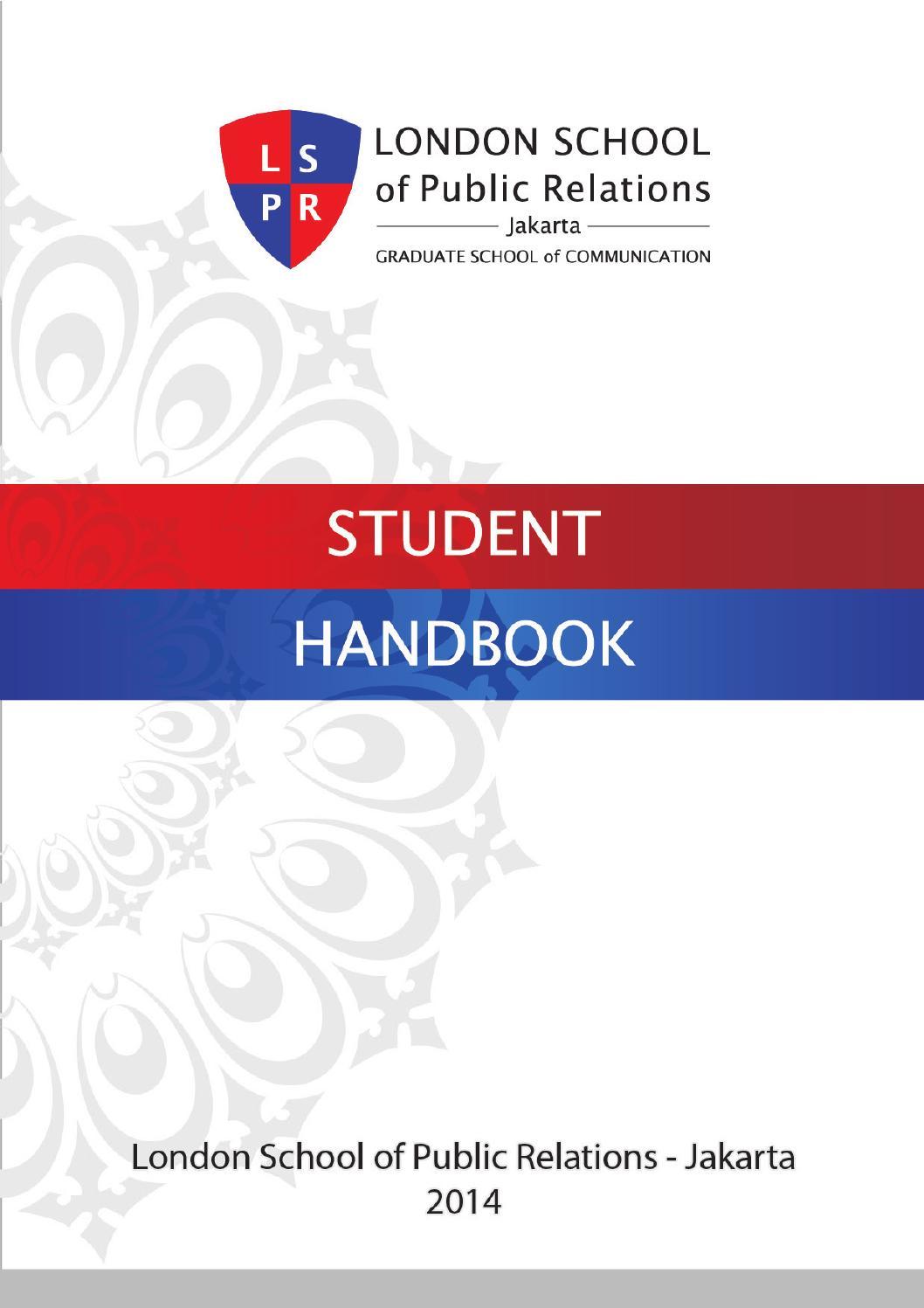 Lspr Students Handbook By Lspr Jakarta Issuu
