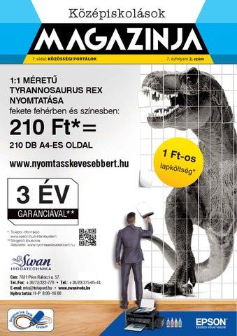 "Cover of ""2014 oktober kozepiskolasok magazinja pecs"""