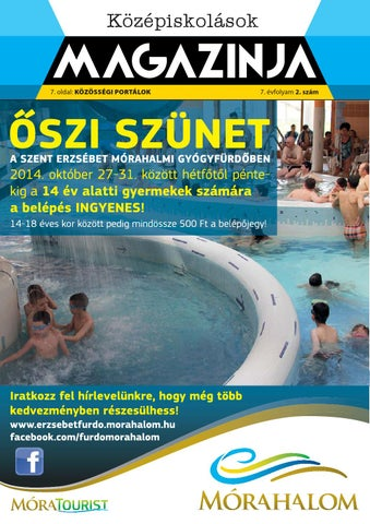 "Cover of ""2014 oktober kozepiskolasok magazinja szeged"""