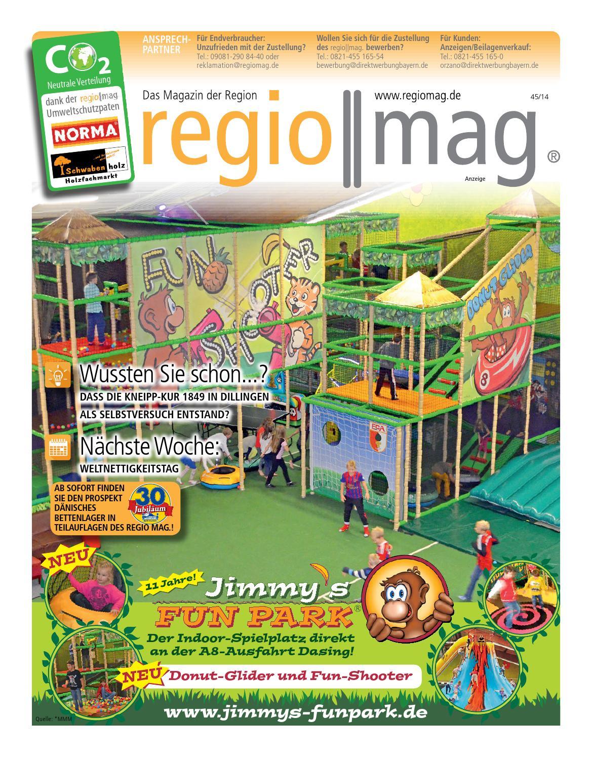 regio mag jimmys funpark kw 4514 by orzano issuu - Danisches Bettenlager Bewerbung