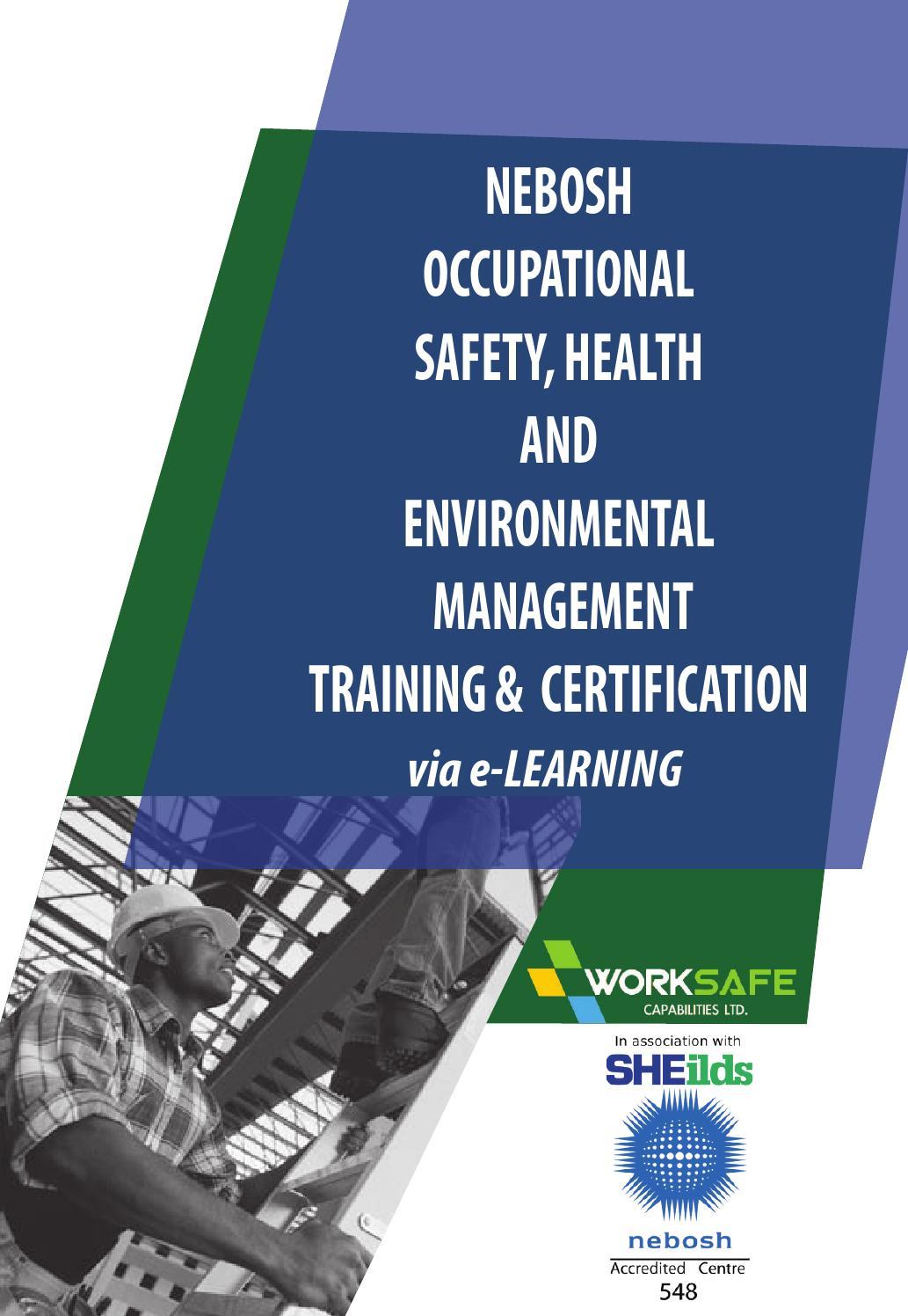Nebosh Courses. by WorkSafeKenya - Issuu
