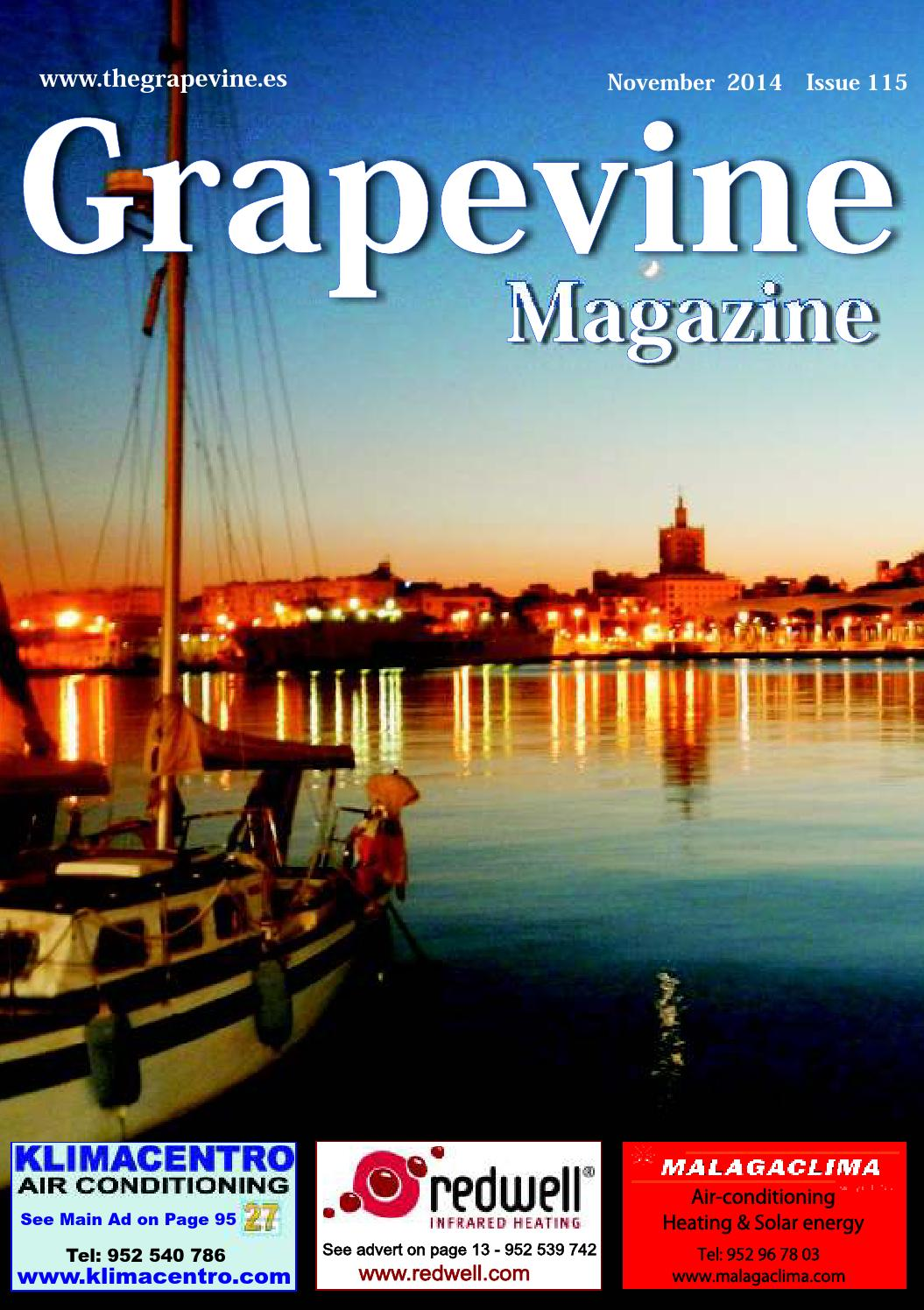 The Grapevine Magazine November 2014 By The Grapevine