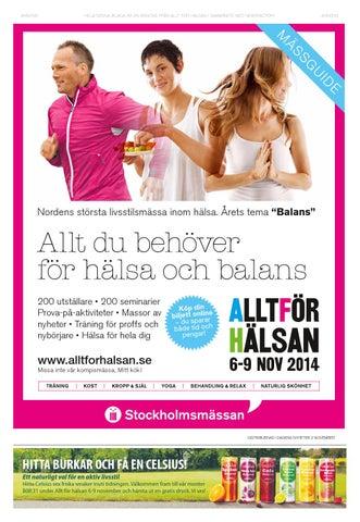 Allt för Hälsan 2014 by Newsfactory Media Group - issuu e53e884f1c330