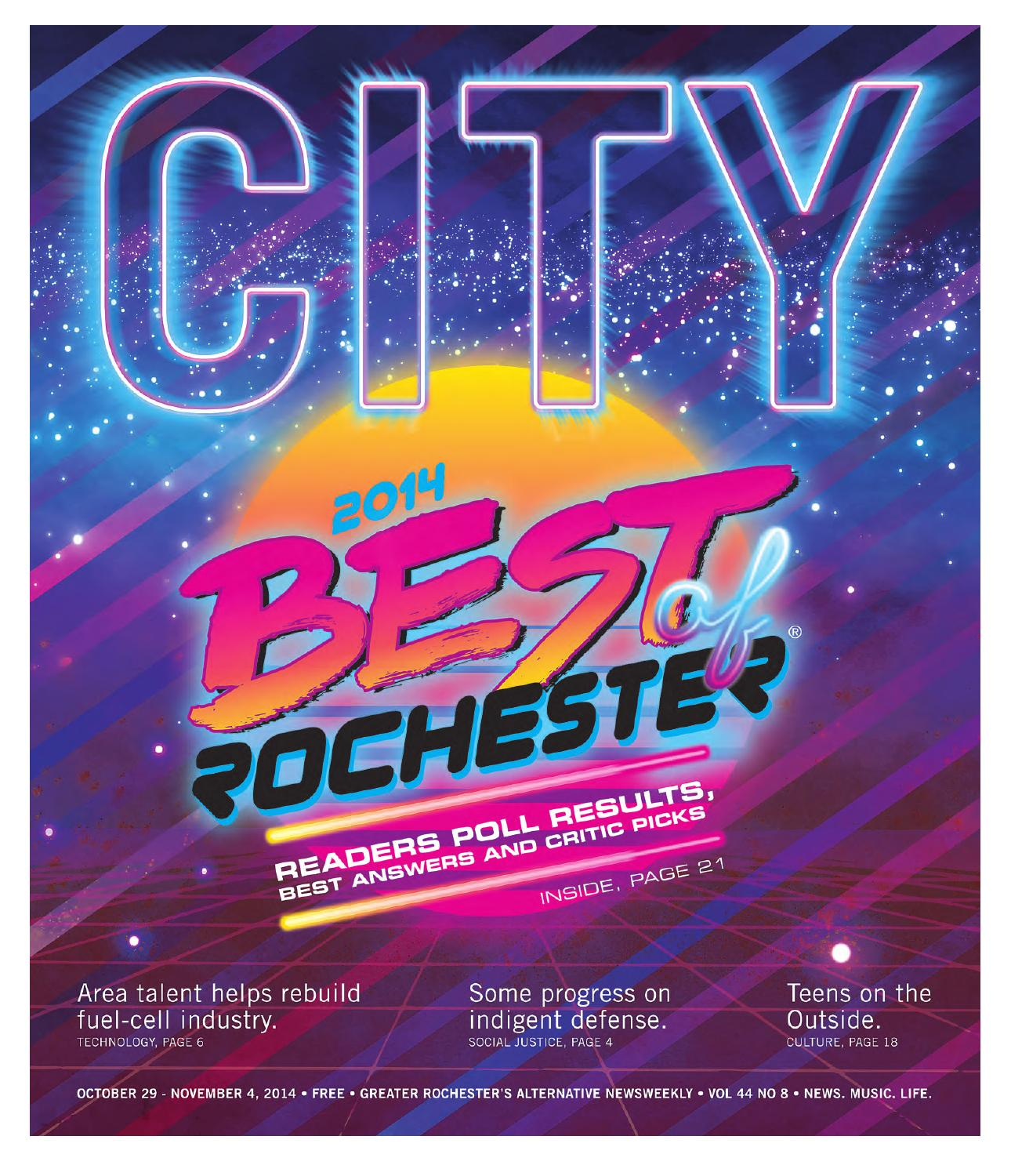 Tgif Presidential Countdown Just 368 >> October 29 November 4 2014 City Newspaper By Rochester City