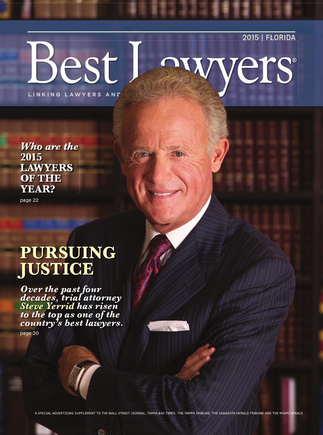 Best Lawyers In Florida 2015 By Best Lawyers Issuu