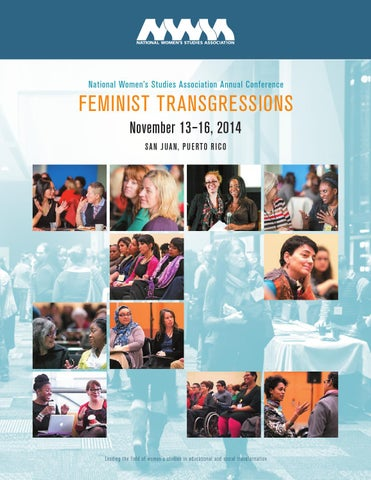 2014 NWSA Conference Program by National Women's Studies ...