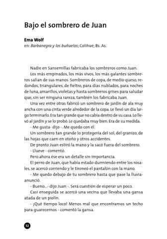 Bajo el sombrero de Juan Ema Wolf en  Barbanegra y los buñuelos  Colihue   Bs. As. 95e658edf56