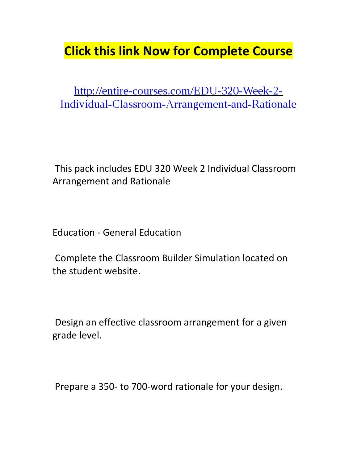 Classroom Design Rationale : Edu week individual classroom arrangement and