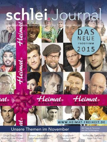 schlei.Journal November 2014 by Verlagskontor Schleswig-Holstein - issuu