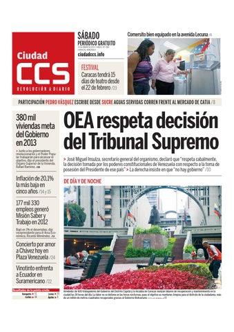 12 01 13 by Ciudad CCS - issuu d12aca16b6e3d