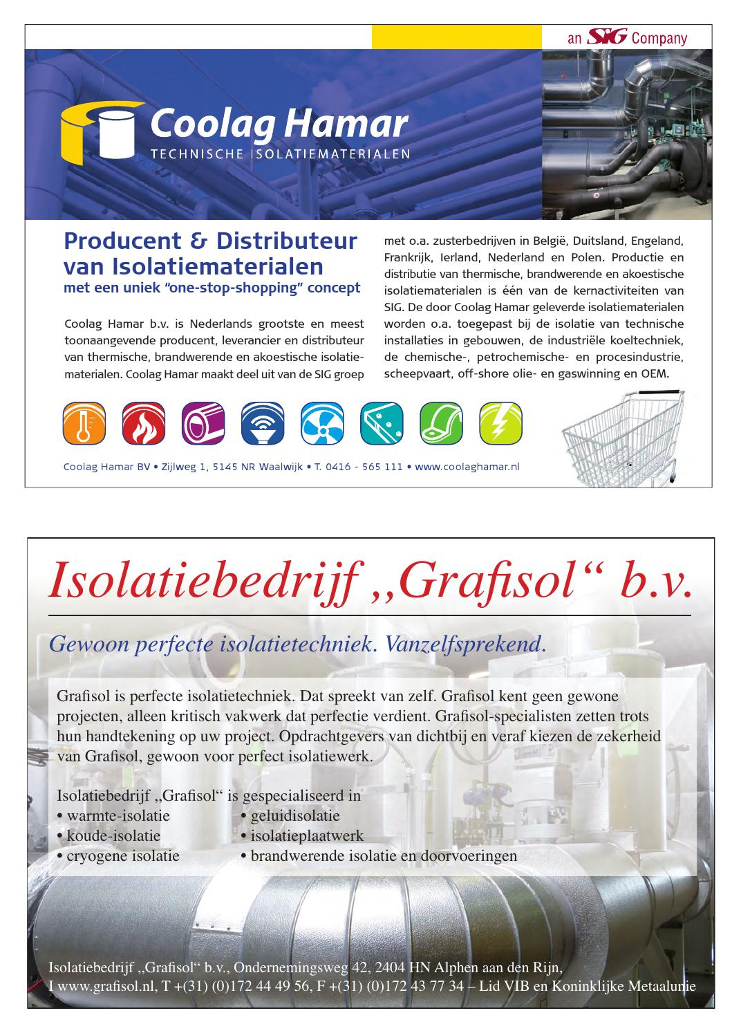 Isolatie Magazine, nummer 63, 2014 by Business Media    4All