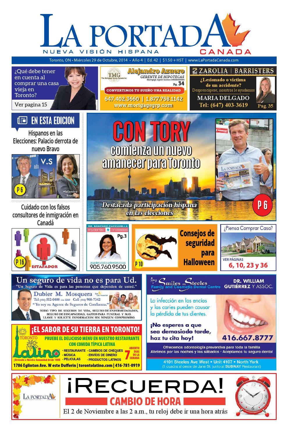 2014 43 laportada 29 october 2014 by Comercio Latino - issuu 12fc3ff7239
