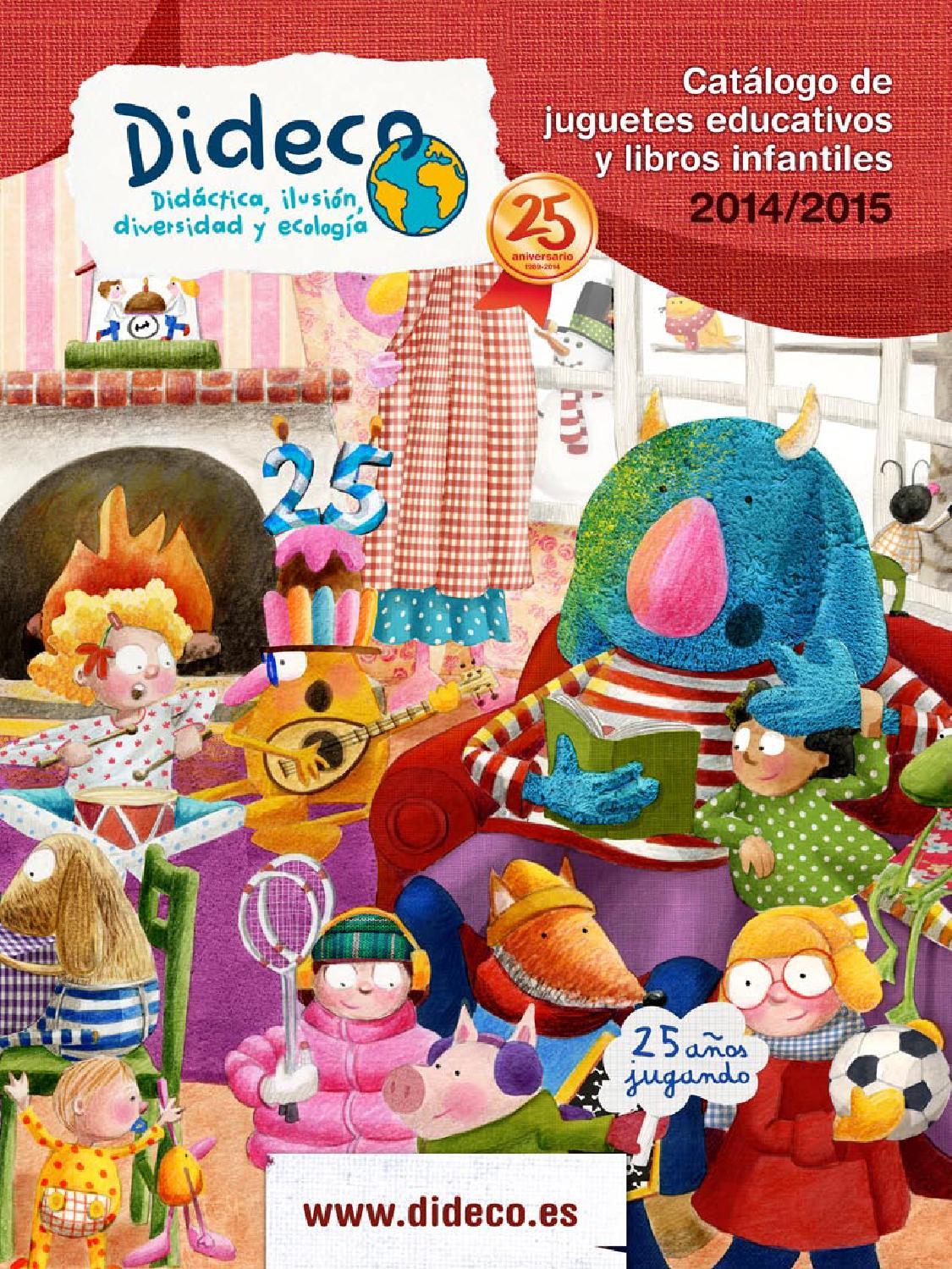 Catalogo juguetes educativos y libros infantiles 2014/2015 by Dideco ...